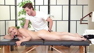 Alluring comme ci lets will not hear of masseur lick will not hear of wet pussy and fuck will not hear of doggy