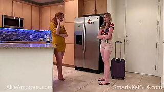 Daughter FUCKS HER MOM! FULL LENGTH!! Redhead MILF Allie Amorous learns a lesson from her Blonde College daughter SmartyKat314