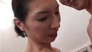 Hot and horny mature Asian takes