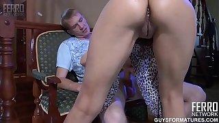 Ferro Network - Hot russian milf Viola & young boy (more real MILFs: bit.ly/2InJIil)