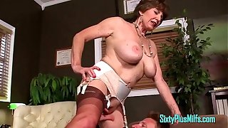 Young Cock Sucked Off By Granny MILF