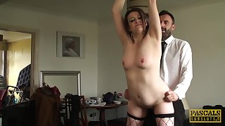 mature brunette Pascal White craving be worthwhile for hard penis deep inside her cunt