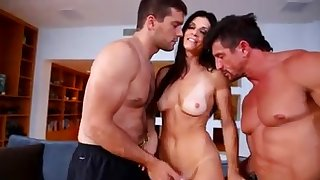 A brutal double fuck be proper of a darkhaired babe mother I´d like more fuck