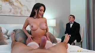 Asian slut shows hubby proper cuckold porn