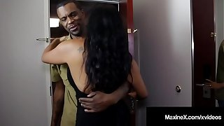 Exasperation Fucked Asian Milf Maxine-X Is Butt Banged By Moonless Cock!