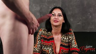 Cassie Clarke - Rope Chum around with annoy Bull CFNM Masturbation