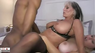 Aunt and Niece Fuck a Obese Black Cock Breeding sinners Cost D'angelo Harmony California