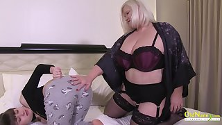 Wild and horny lesbians Lacey Starr and her guest Luna Rival