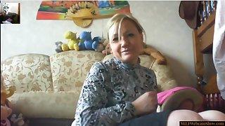 Horny Mom Masturbating On Homemade Webcam