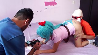 Behind the scenes of a porn scene, Dragon Promenade porn parody