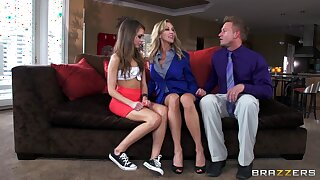 Brandi Love loves to share her costs with astounding Riley Ried
