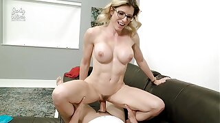 Inhibition Gym Massage and Fuck from My Step Mom - Cory Chase