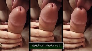 Diary Russian whore #39 - Real homemade sex with lustful Russian milf. Russian cuckold. Russian slut
