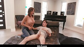 MILF - Alexis Fawx Plays Punctiliousness With A Young Stud