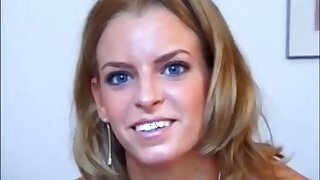 Lilou Casting - hot smiley babe porn video