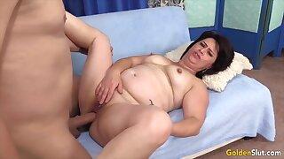 Golden Slut - Auntie Wants Her Pussy Stuffed Compilation
