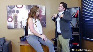 Preston Parker together with Maddy O'Reilly share in a wild place hookup