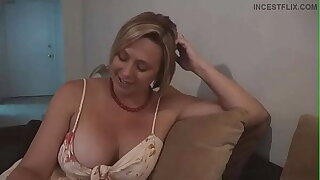 Step Mom Confesses That She Likes Adhering Son Masturbate - Brianna Strand Cock Ninja